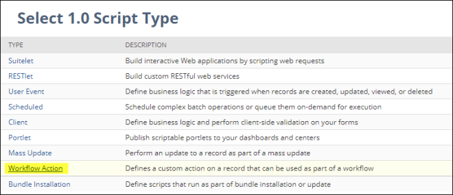 Scheduled NetSuite Workflow that runs a SuiteScript – NetSuite