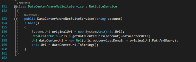 DataCenterAwareNetSuiteService