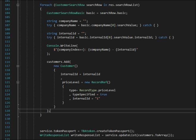 BuildCustomerList