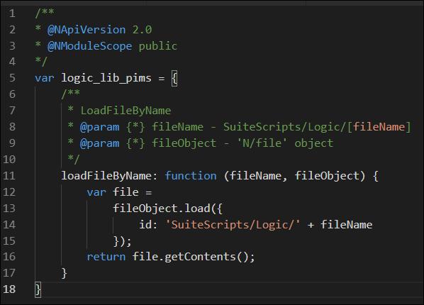Load File method