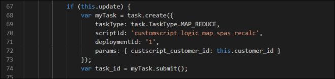 Calling Code Sample